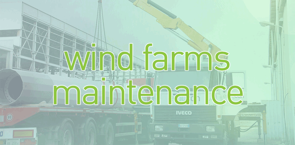 Go to the wind farms maintenance page